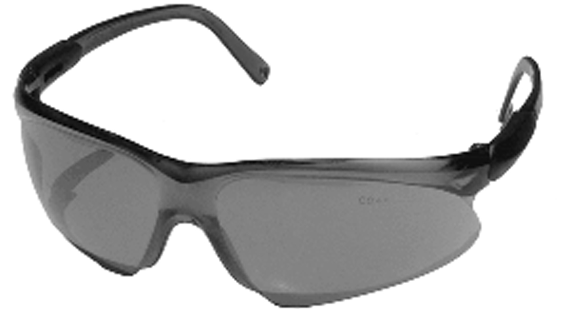 Safety Glasses Black Frame : Rotary # 11606 Safety Glasses Viper Model 741 Smoke lens ...