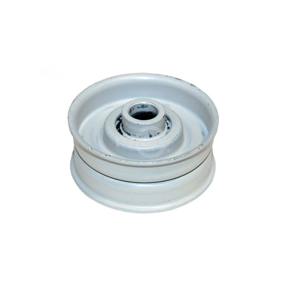 Rope Idler Pulley : Rotary flat idler pulley for bolens