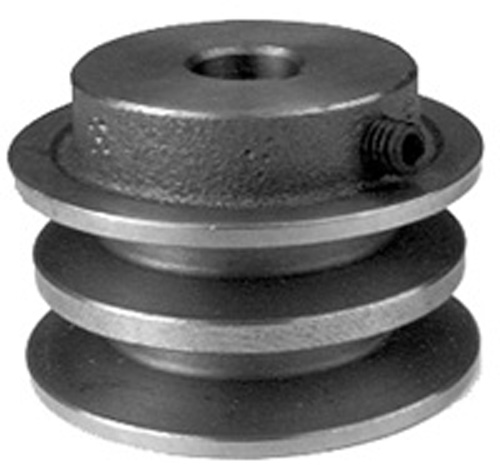 Rope Pulley Drive : Rotary drive pulley for toro