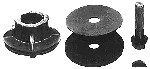 Rotary # 1159 Blade Adaptor Kit  For Universal # 9 7/8