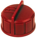Rotary # 12056 Gas Cap For Tecumseh # 37845 Red Color