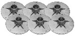 Rotary # 12724 Spindle Assembly 6 PACK  For Murray # 492574 , 492574A , 24385