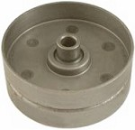 Rotary # 2192  Flat idler pulley 3/8