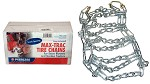 Rotary # 5550 Max Trac Snow Blower Tire Chain 410 x 350 x 6 & 12.25 x 3.50