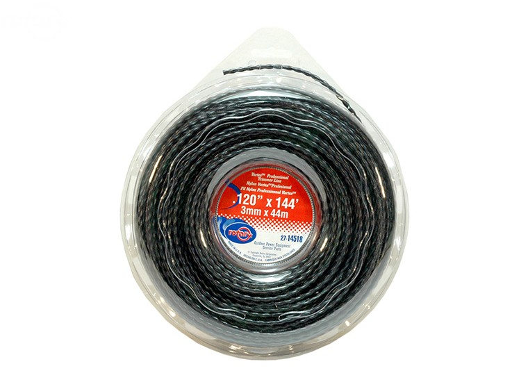 Rotary # 14518 VORTEX trimmer line .120 X 144' Spool Low Noise Line