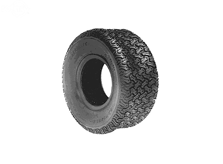 Rotary # 7700 Carlisle Tubeless Tire 15X600X6  Turf Mate Tread 2 Ply
